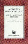 MISIÓN AL PUEBLO DESIERTO