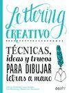 LETTERING CREATIVO