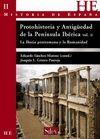 PROTOHISTORIA Y ANTIGUEDAD PENINSULA IBERICA II.IBERIA PRERR