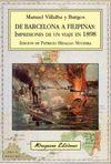 DE BARCELONA A FILIPINAS IMPRESIONES DE UN VIAJE 1898