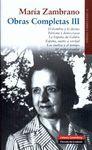 MARIA ZAMBRANO LIBROS 1955 1973 VOL III