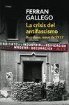 CRISIS DEL ANTIFASCISMO,LA BARCELONA MAYO 1937 DB