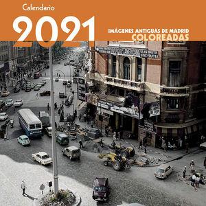 CALENDARIO IMÁGENES ANTIGUAS COLOREADAS 2021