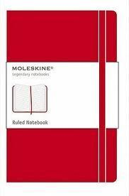 RULED CLASSIC RED NOTEBOOK L ROJO CUADERNO RAYADO